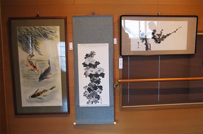 Ink wash paintings by Takehiko Yamagishi