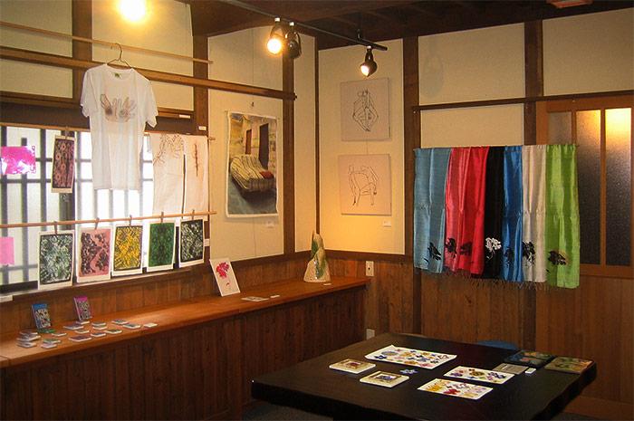 ギャラリー1階展示風景