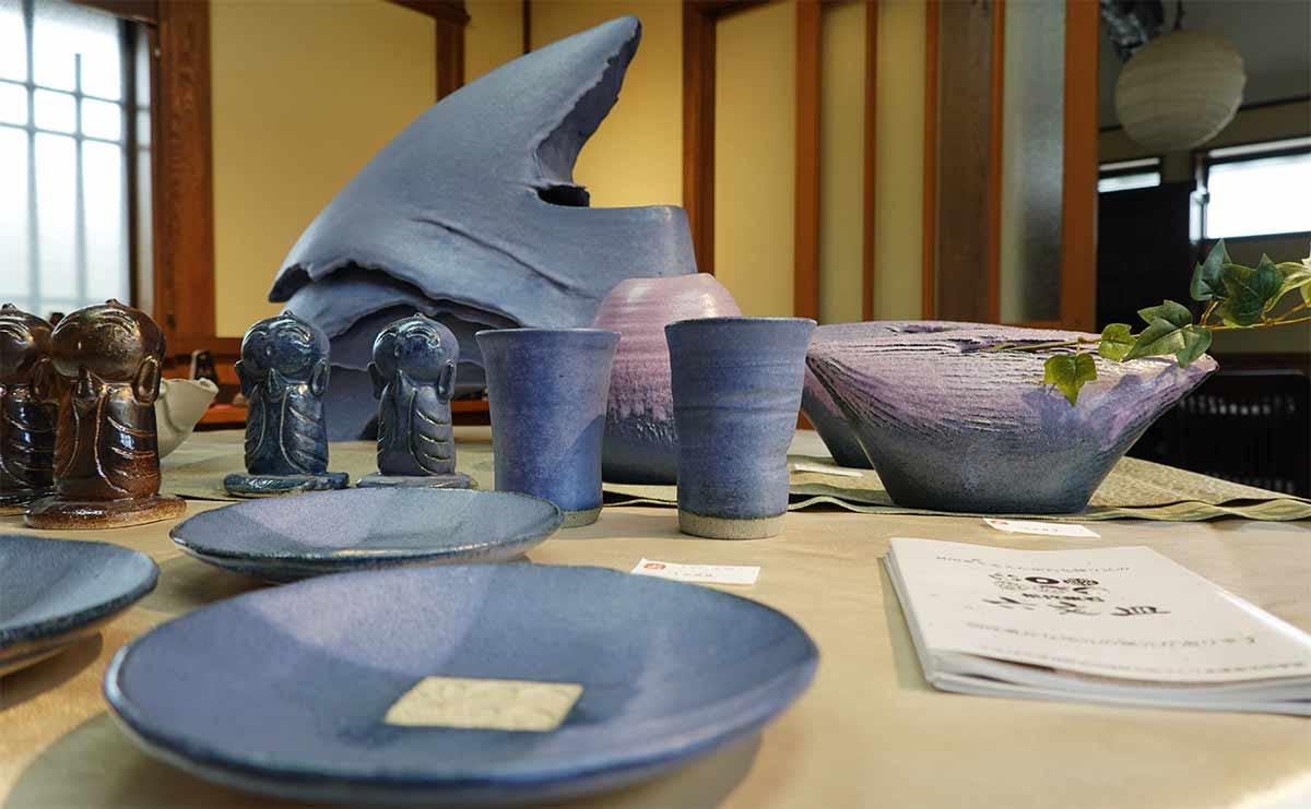 Pottery by Yoshiaki Murai