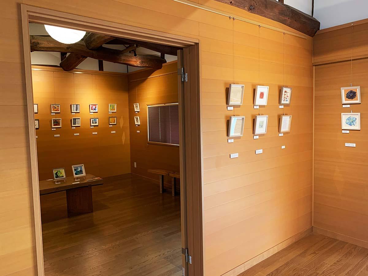 ギャラリー2階展示風景
